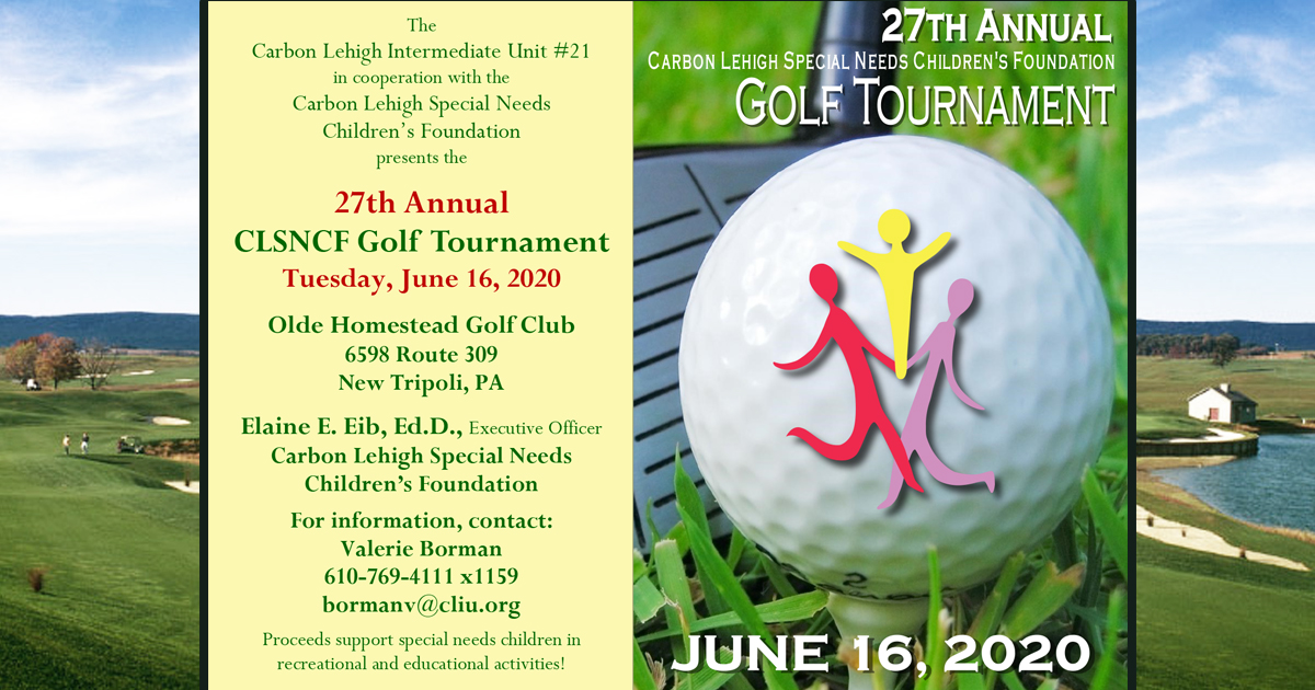 27th Annual CLSNCF Golf Tournament